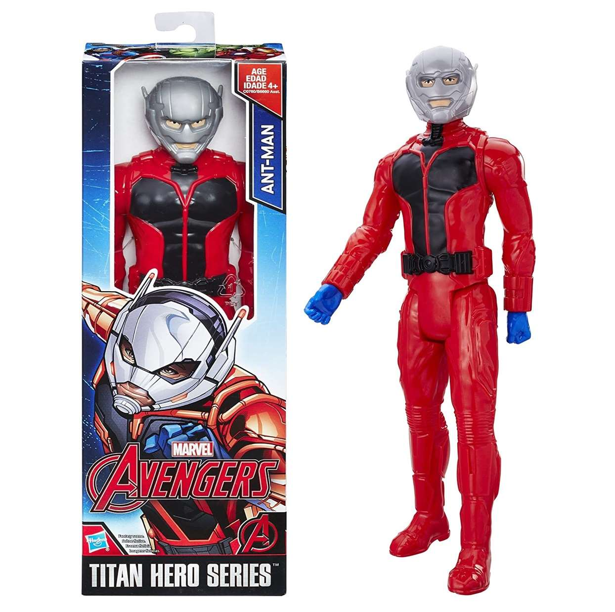 Ant Man Figura Avengers Titan Hero Series 12 PuLG