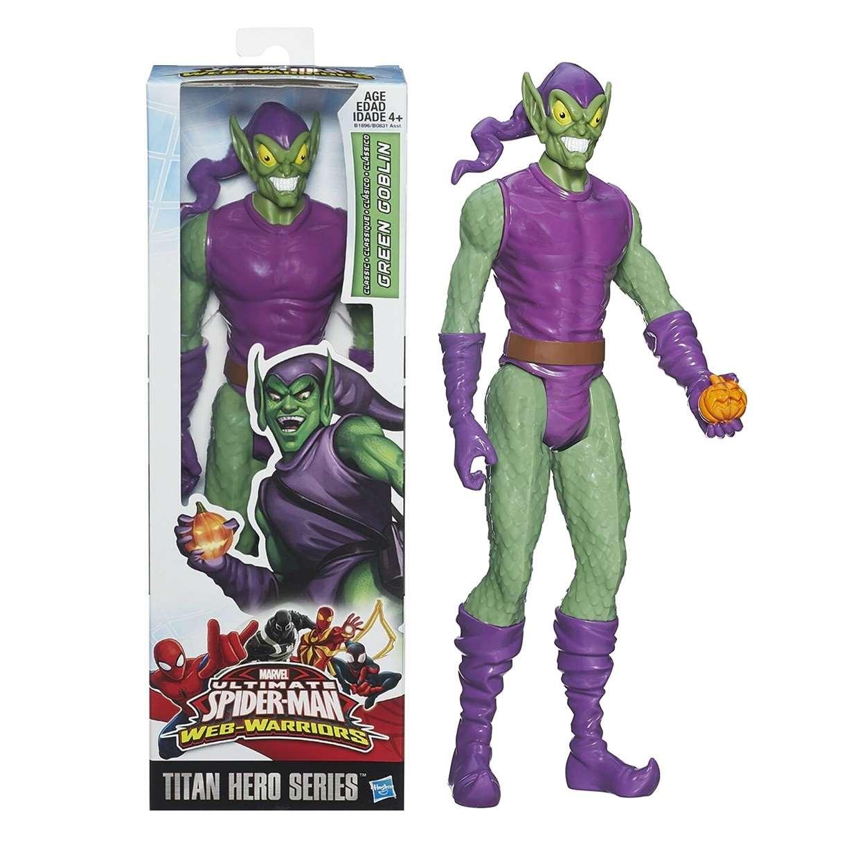 Green Goblin Figura Marvel Ultimate Spider Man Web Warriors