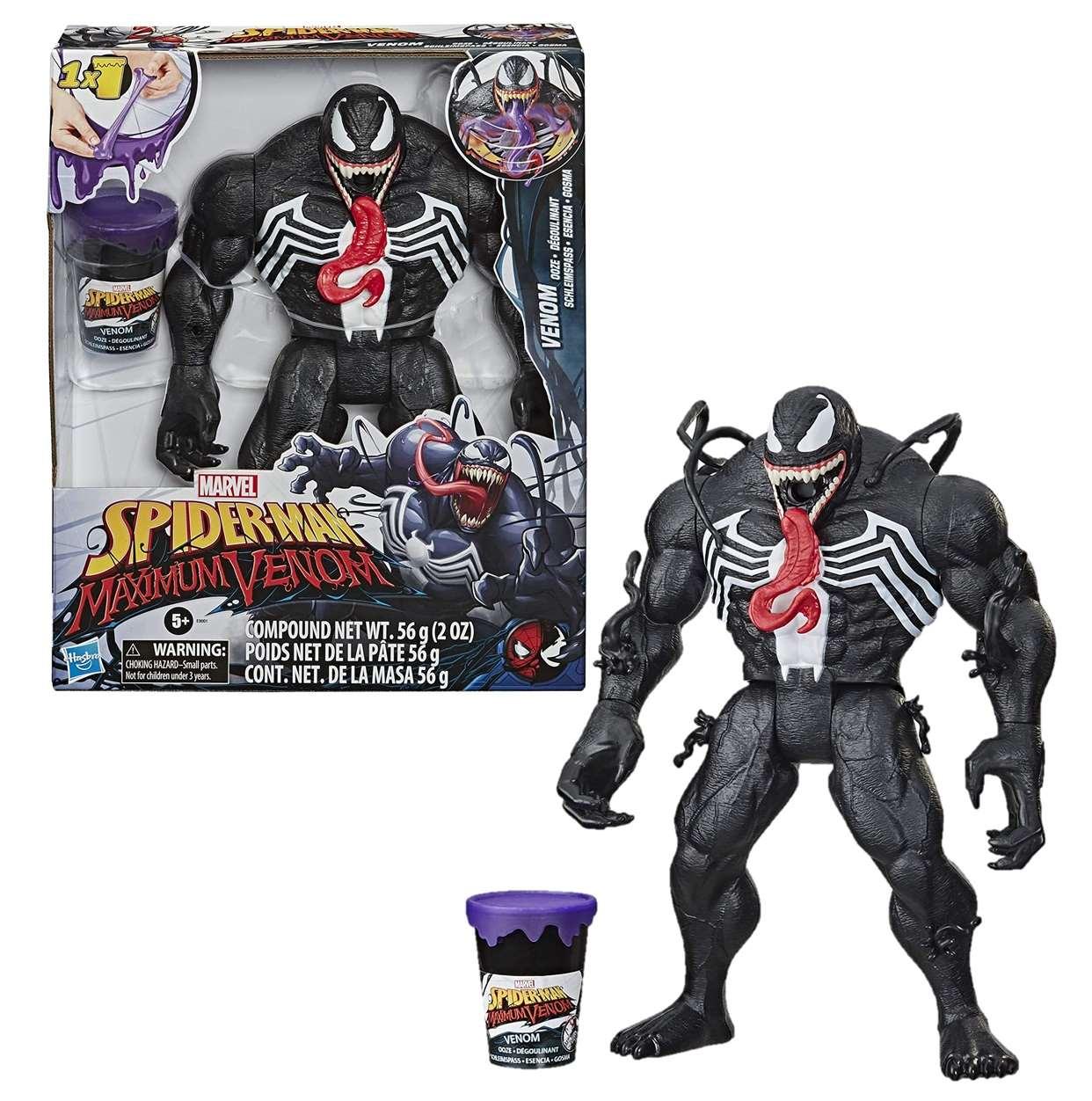 Venom Lanzador Slime Figura Marvel Spider Man Maximum Venom