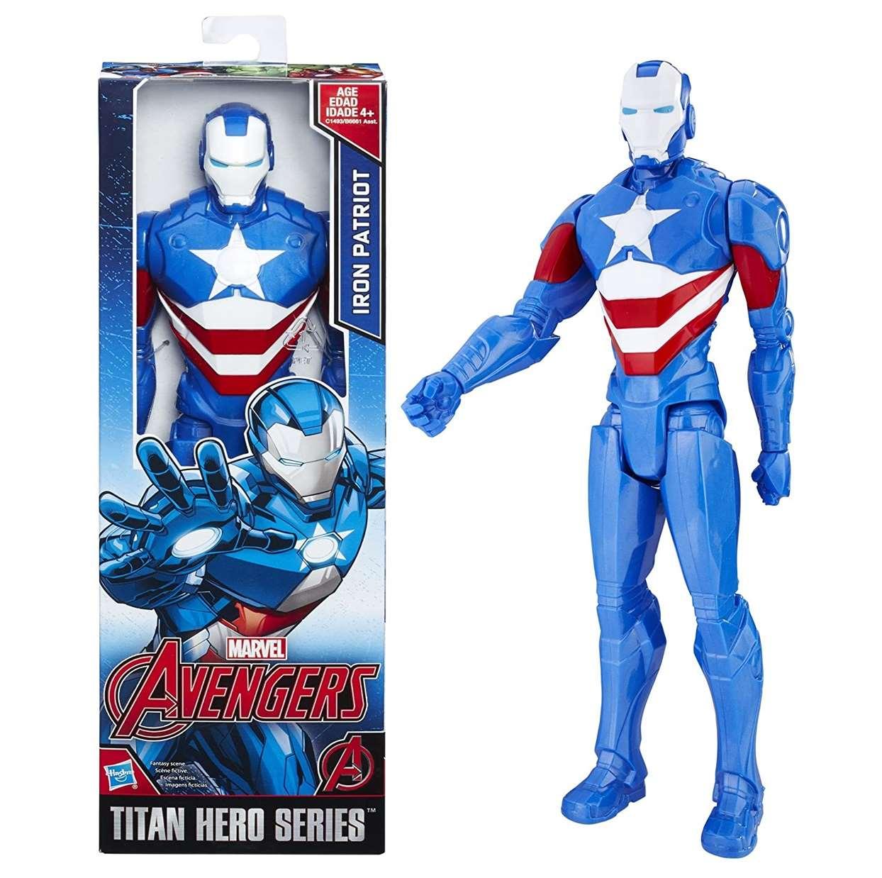 Iron Patriot Figura Avengers Titan Hero Series 12 Pulgadas