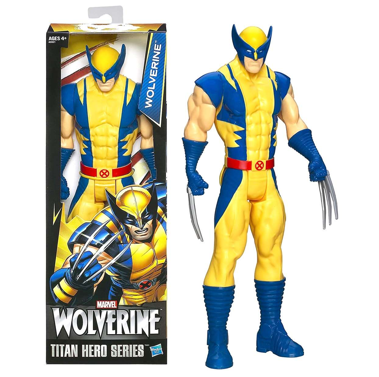 Wolverine Figura Marvel X Men Titan Hero 12 Pulgadas