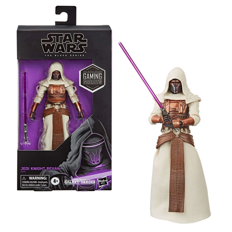 Star Wars Figura Jedi Night Revan The Black Series Hasbro