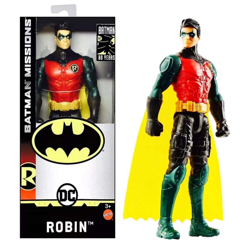 Robin Missions Figura Dc Batman 80th Years 6 Pulgadas