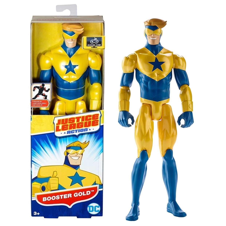 Booster Gold Figura Dc Justice League Action Mattel 12 PuLG