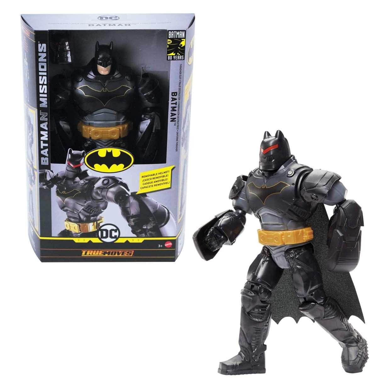 Batman Armadura Colosal Figura Batman Missions 80th Years