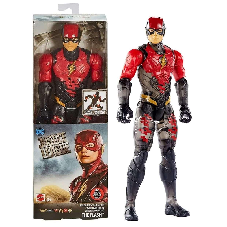 Flash Traje Táctico Figura Justice League Movie 12 PuLG