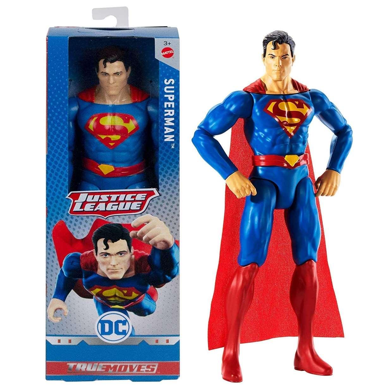 Superman Figura Dc Justice League True Moves 12 PuLG