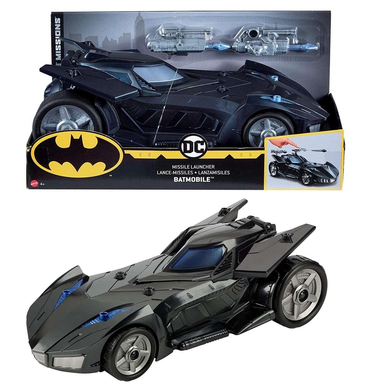 Batmobile Lanzador De Misiles Dc Comics Batman Missions