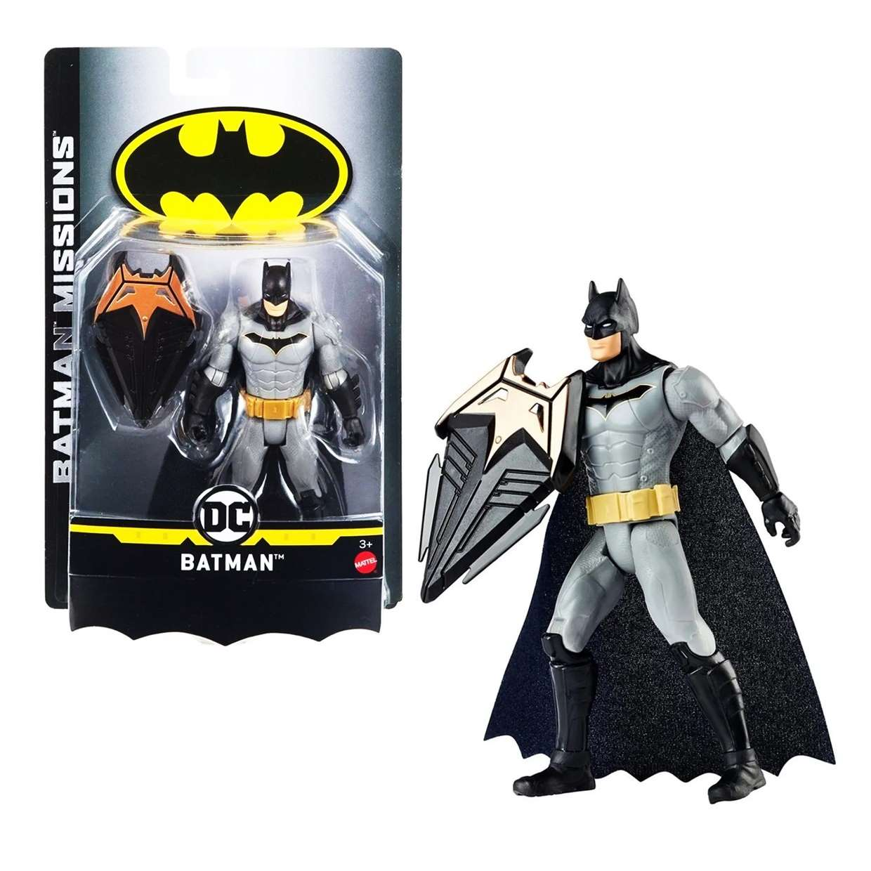 Batman Escudo Protector Figura Dc Batman Missions 6 Pulgadas