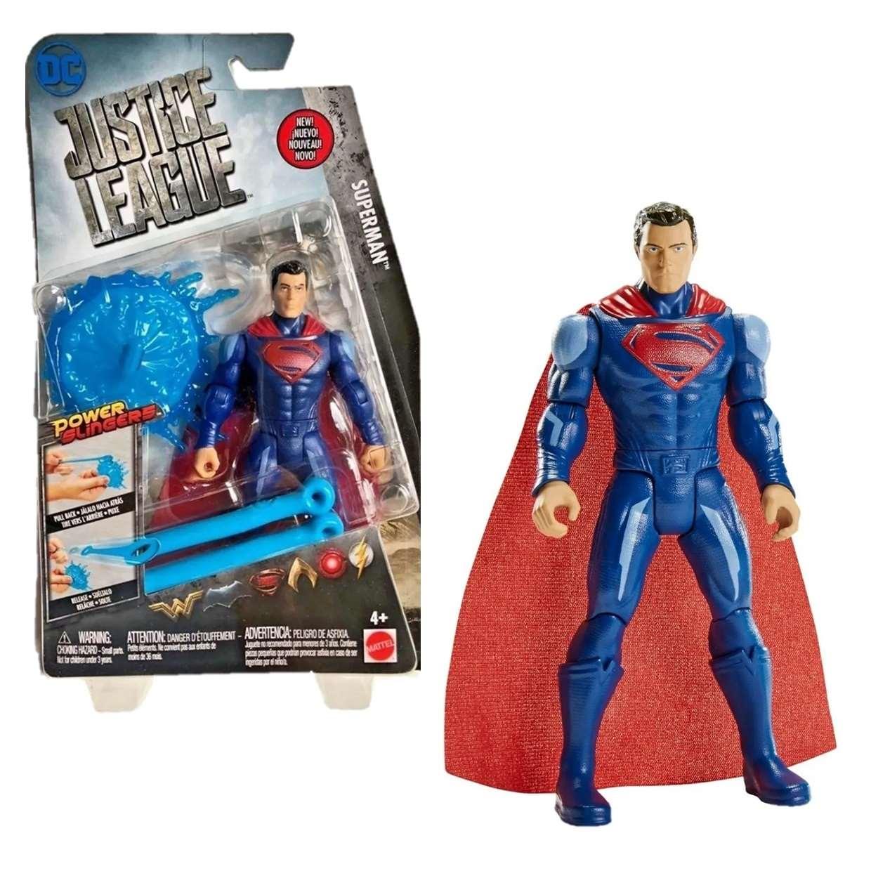 Superman Power Slingers Figura Dc Cómics Justice League
