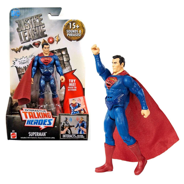 Superman Figura Interactive Talking Justice League 15 Sonidos