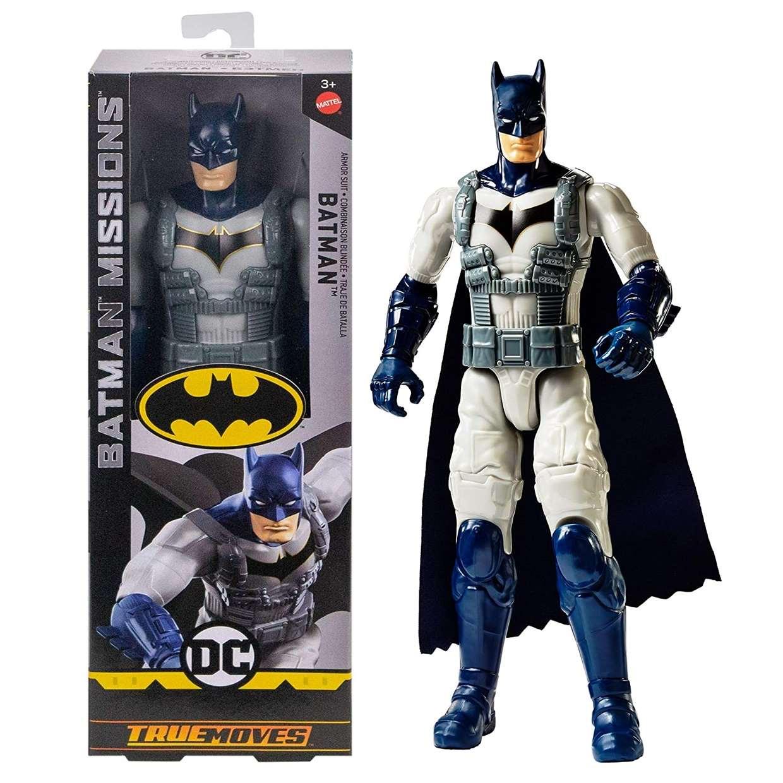 Batman Missions Armor Suit Figura Dc True Moves