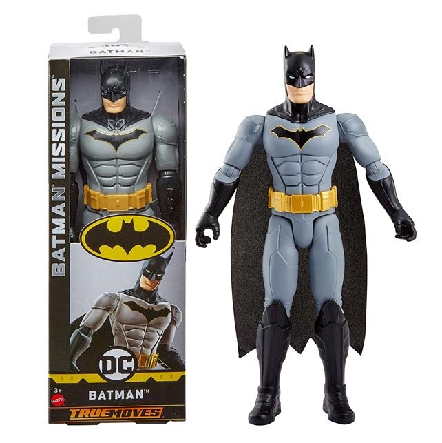 Batman Missions Negro C/gris Dc Comics True Movies 80th