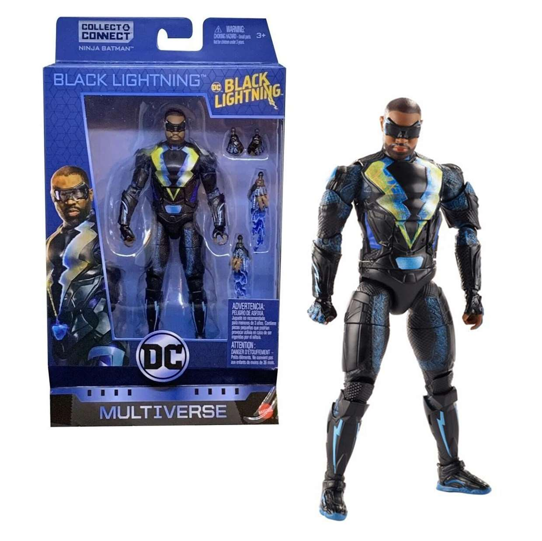 Black Lightning Figura Dc Ninja Batman Multiverse