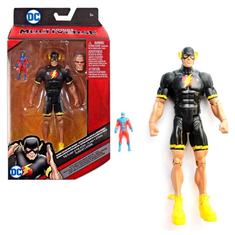 The Flash & The Atom  Figura Dc Comics Multiverse 6 Pulgadas