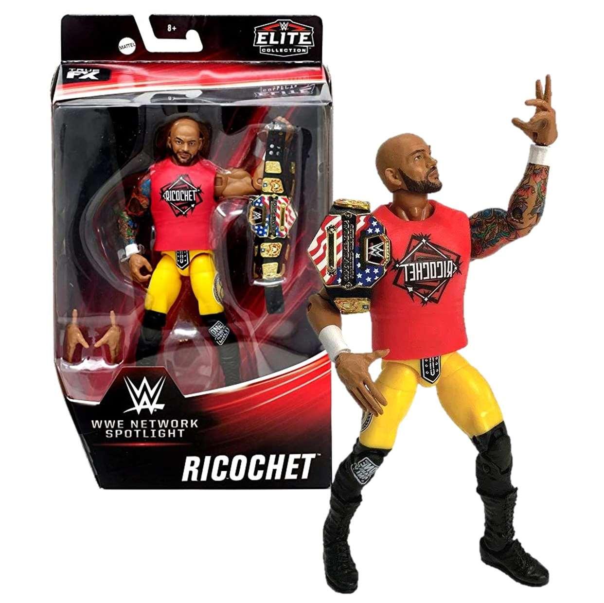 Ricochet Figura Wwe Elite Collection Network Spotligh