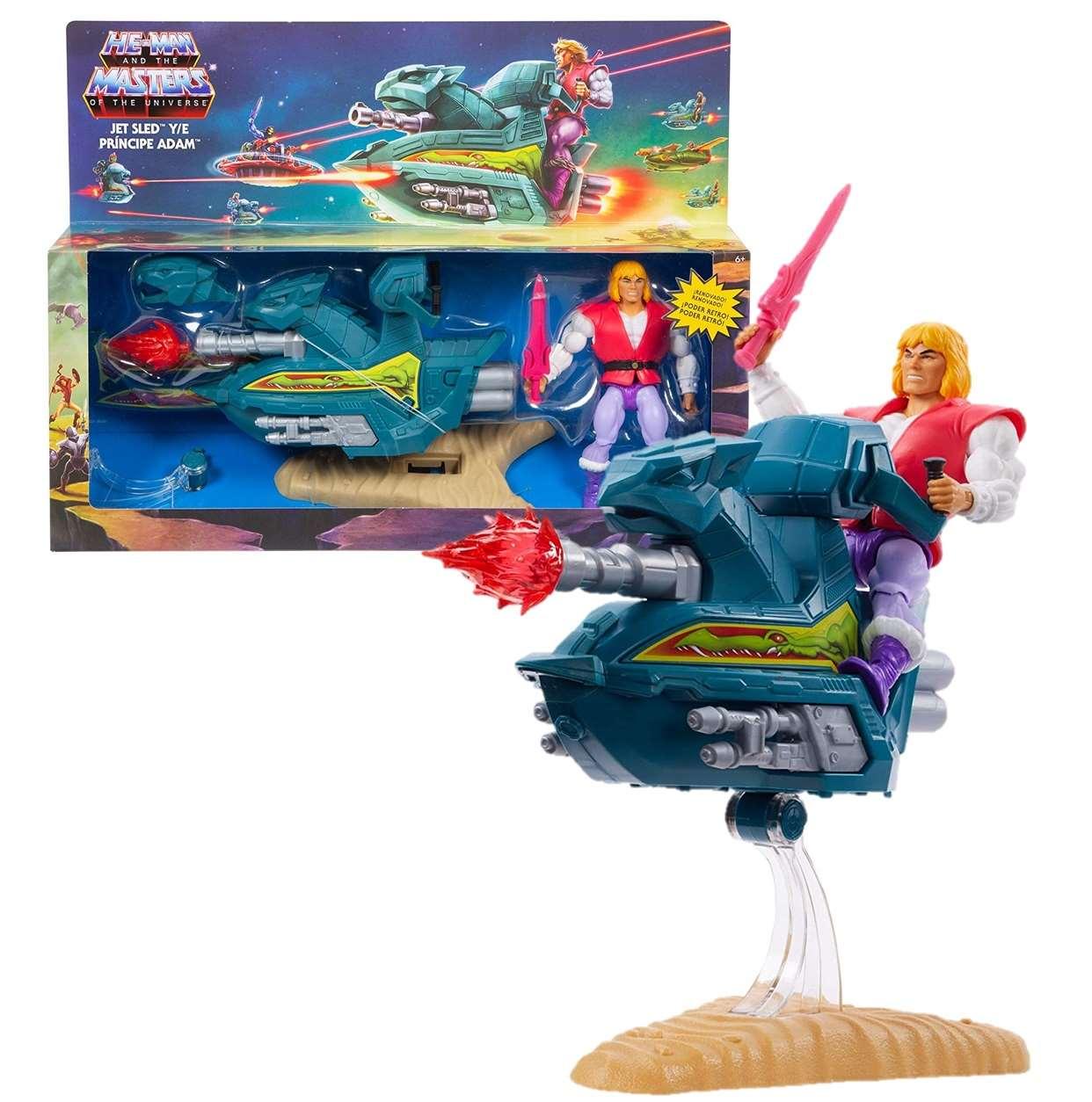 Jet Sled Principe Adam Figura Masters Of The Universe 6 PuLG