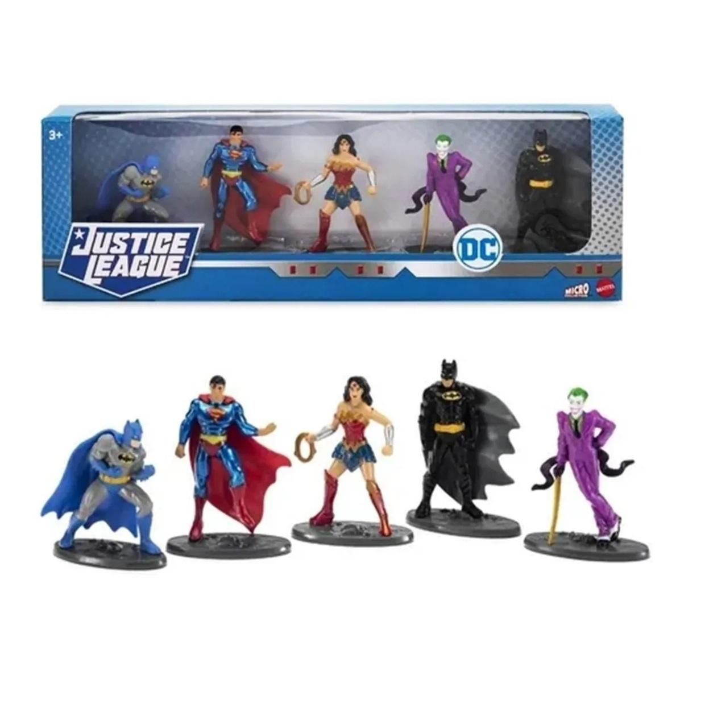 Collector 5 Pack Dc Comics Justice League Mattel 2.5 PuLG