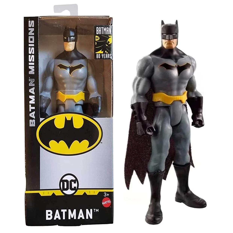 Batman Gck97 Missions Figura Dc Batman 80th Years 6 Pulgadas
