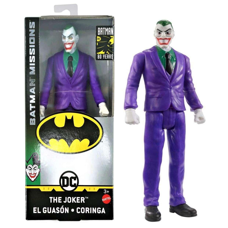 The Joker Missions Figura Dc Batman 80th Years 6 PuLG