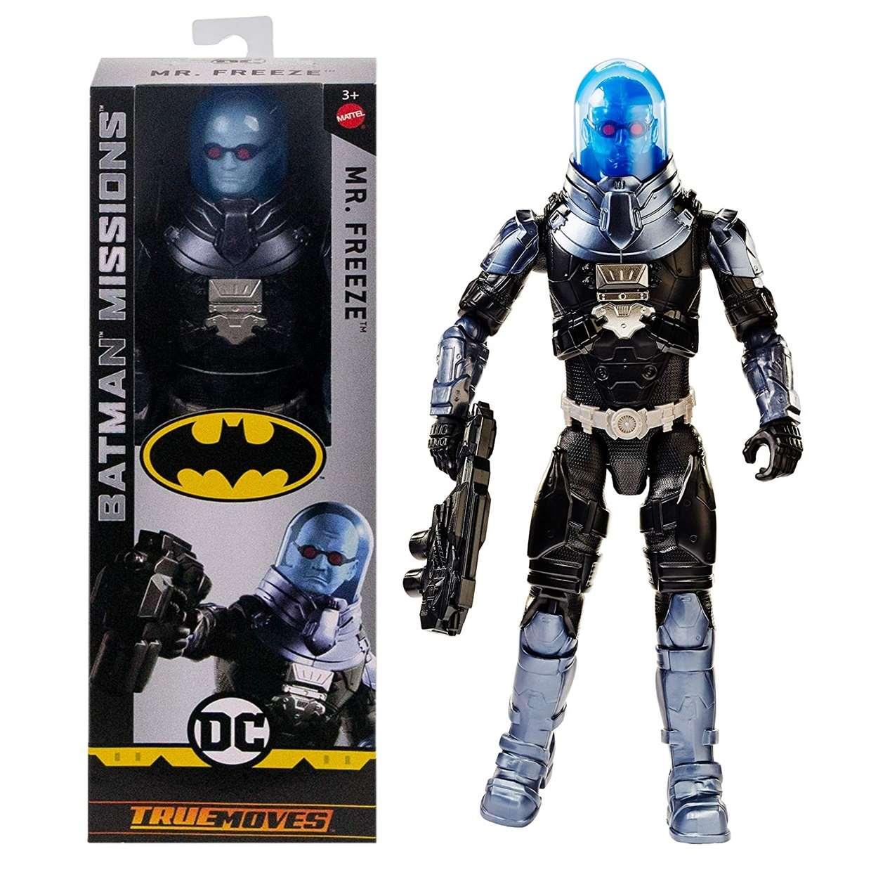Mr. Freeze Figura Batman Missions True Moves 12 Pulgadas