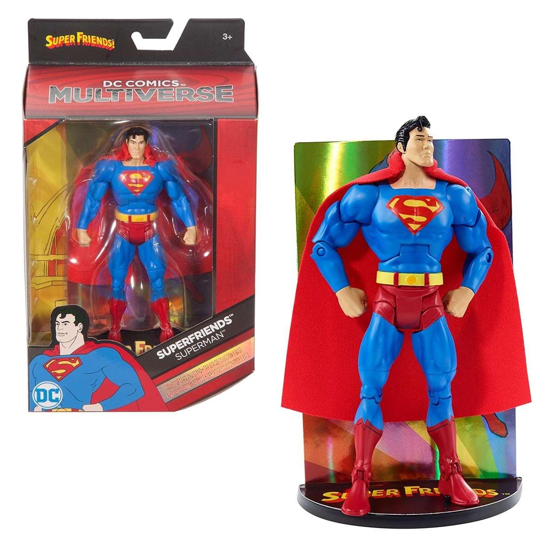 Superman Vintage Figura Dc Comics Super Friends Multiverse
