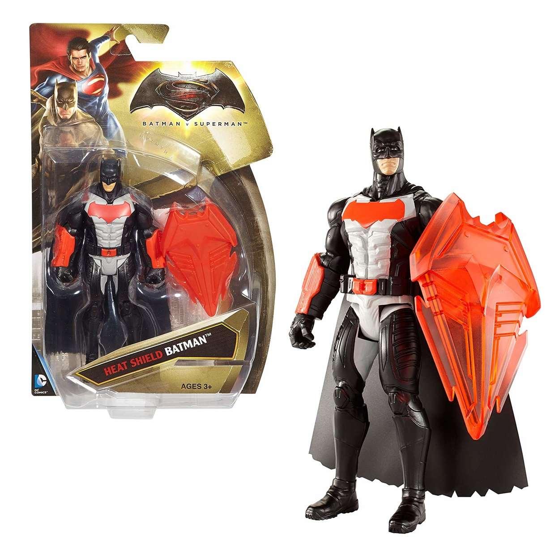 Batman Heat Shield Escudo Térmico Figura Batman Vs Superman