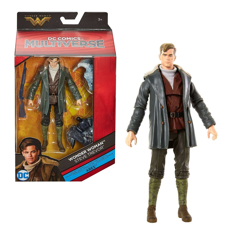 Steve Trevor Figura Wonder Woman Dc Comics Multiverse Ares