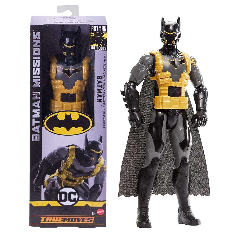 Batman Antitoxina Figura Batman Missions True Moves 12 pULG