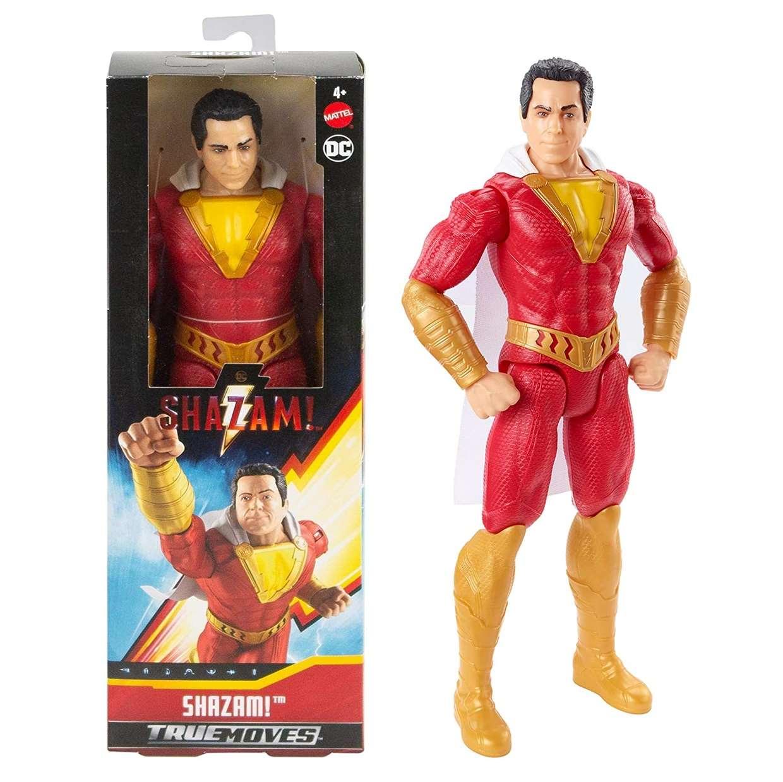 Shazam Figura Dc Comics True Moves Mattel 12 Pulg