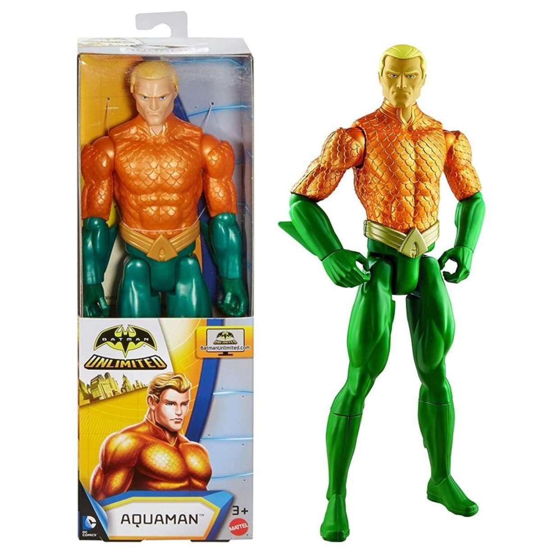 Aquaman Figura Batman Unlimited Dc Comics 12 Pulg