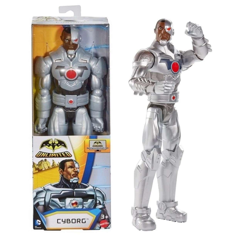 Cyborg Figura Batman Unlimited Dc Comics 12 Pulg