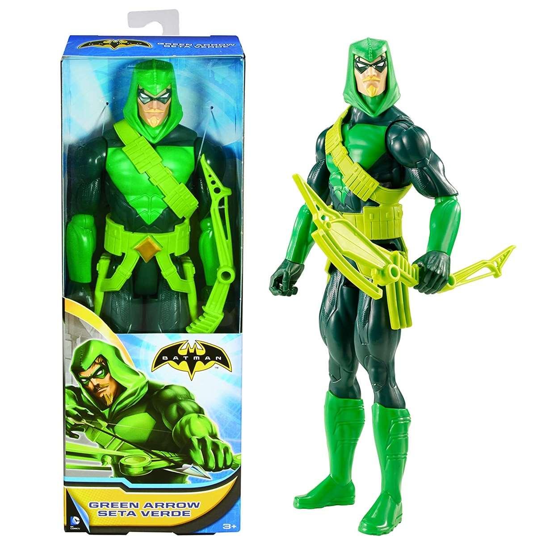 Green Arrow Seta Verde Figura Batman Batman Unlimited 12 Pulg