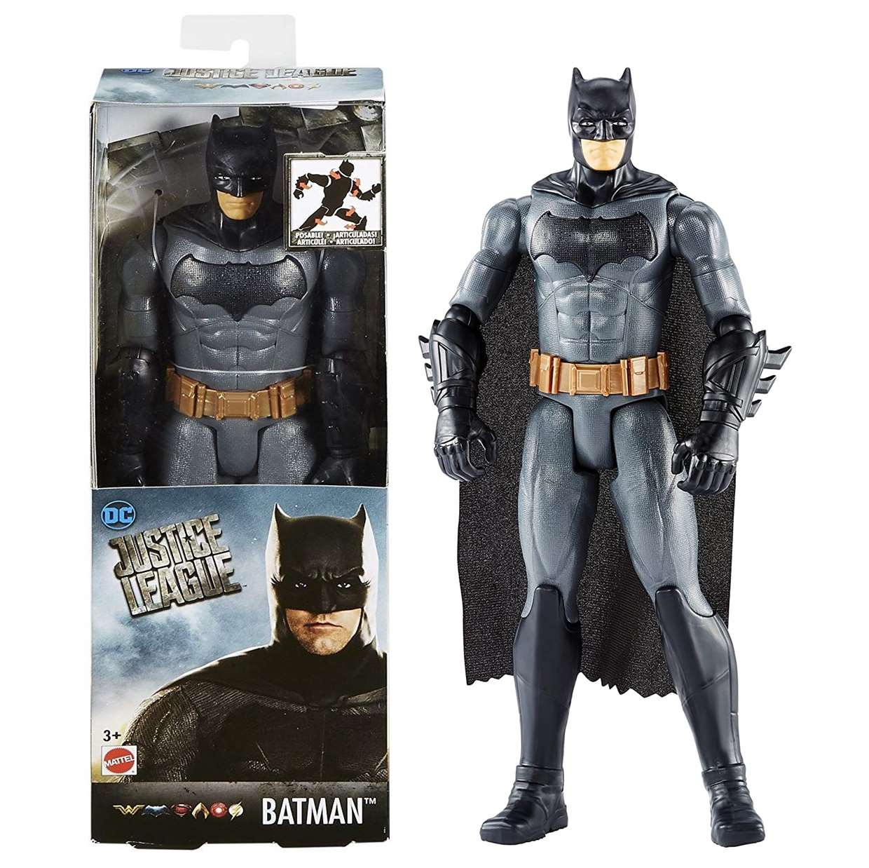 Batman Traje Gris Figura Justice League Movie Mattel 12 Pulg