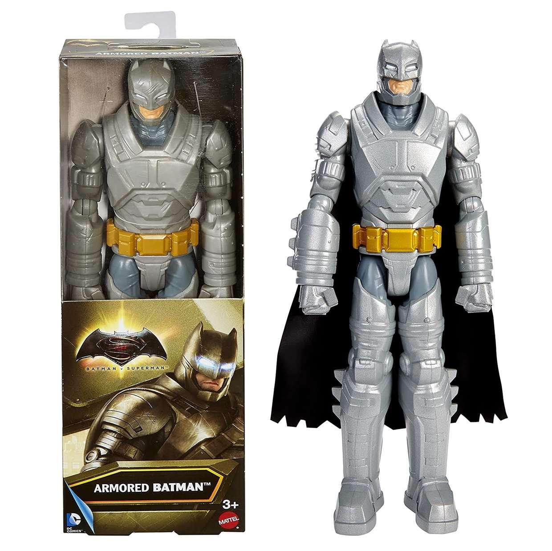 Batman Armored Figura Dc Batman Vs Superman Mattel 12 PuLG