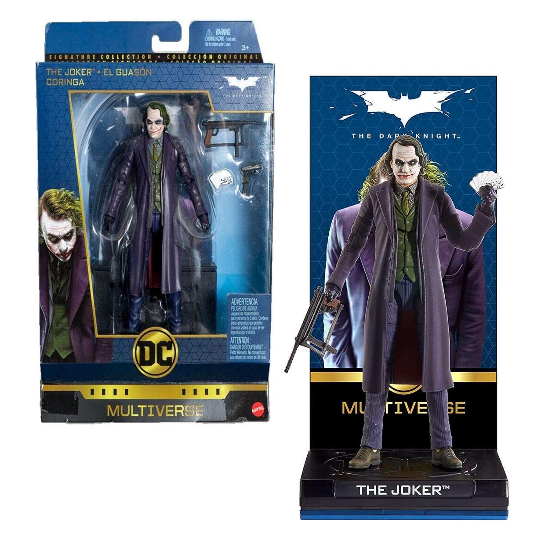The Joker Figura The Dark Night Multiverse Mattel 6 Pulg