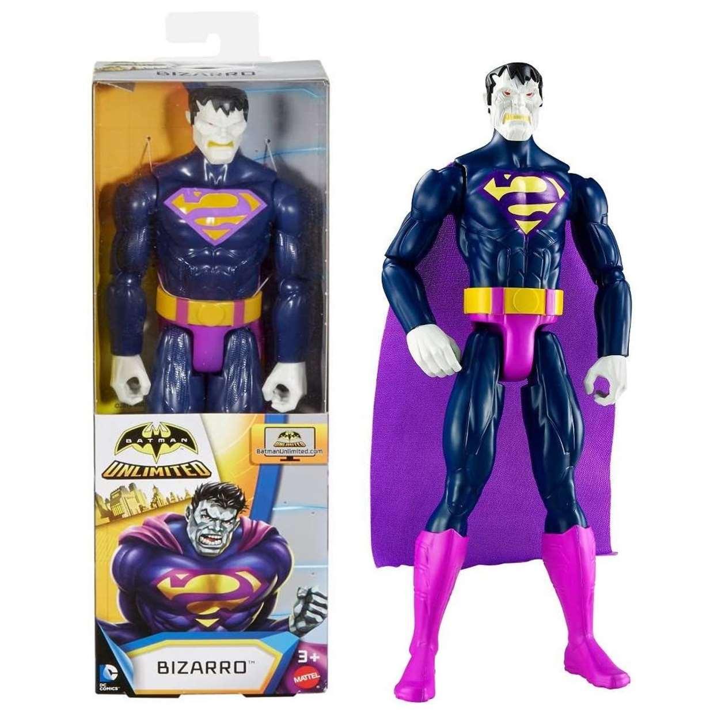Superman Bizarro Figura Dc Comics Batman Unlimited