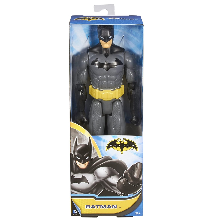 Batman Figura Dc Batman Unlimited (negro Y Amarillo) 12 PuLG