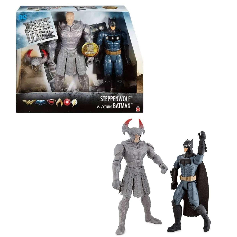 Steppenwolf Vs Batman Figura Dc Justice League Mattel