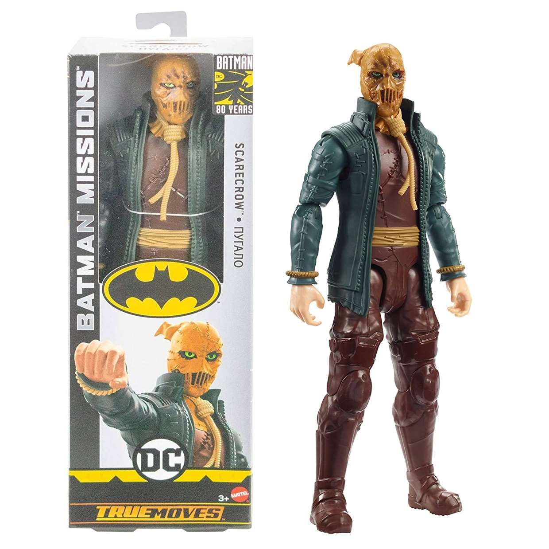 Scarecrow Espantapajaros Figura Batman Missions