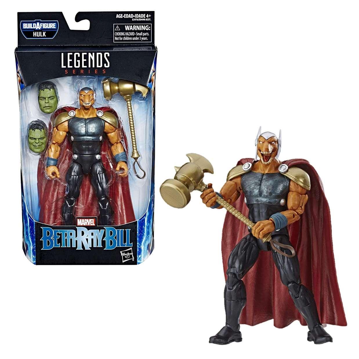 Beta Ray Bill Figura Marvel B A F Hulk Legends 6 Pulg