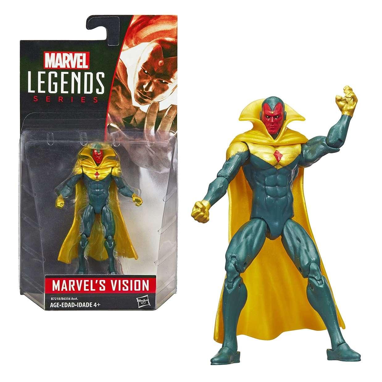 Visión Figura Marvel Legends 3.75 Pulgadas Hasbro