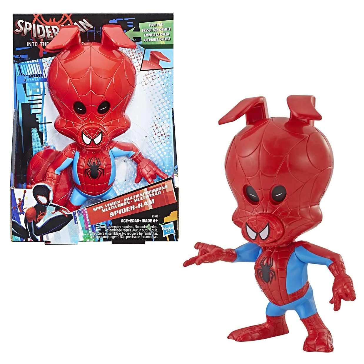 Spider Ham Multivisión Figura Marvel Spider Man Hasbro