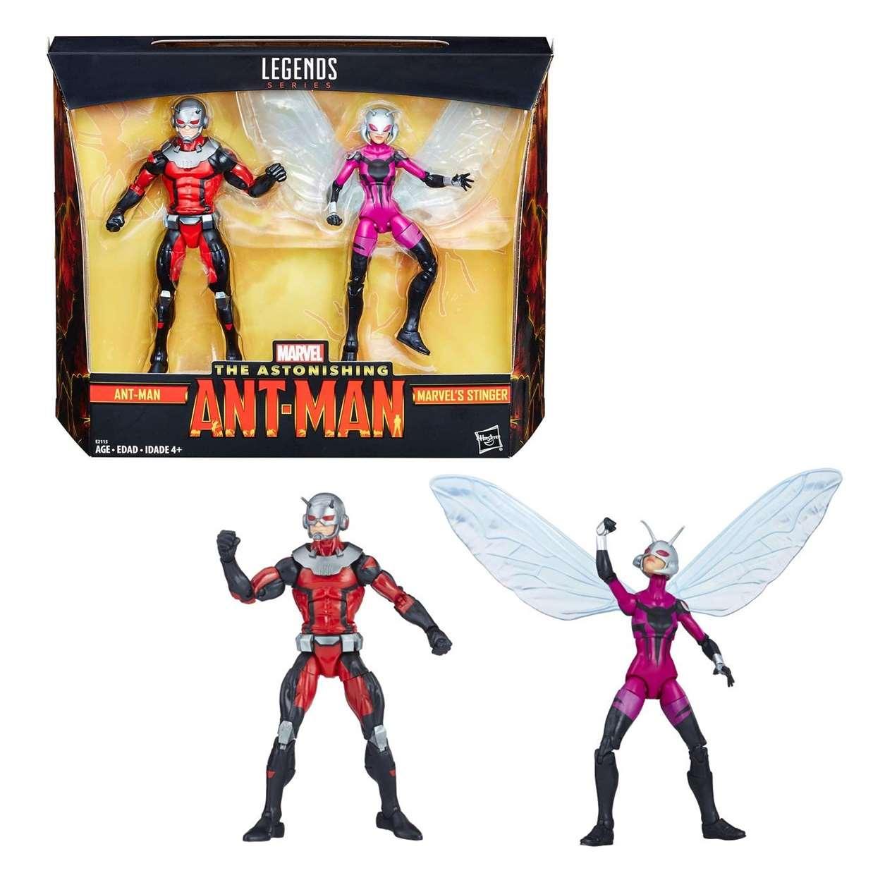Ant Man & Stinger Paquete Marvel Legends The Astonishing