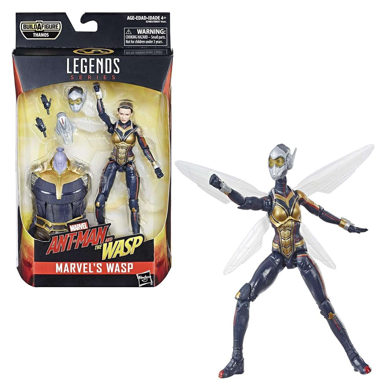 Wasp Figura Marvel B A F Thanos Ant Man And The Wasp