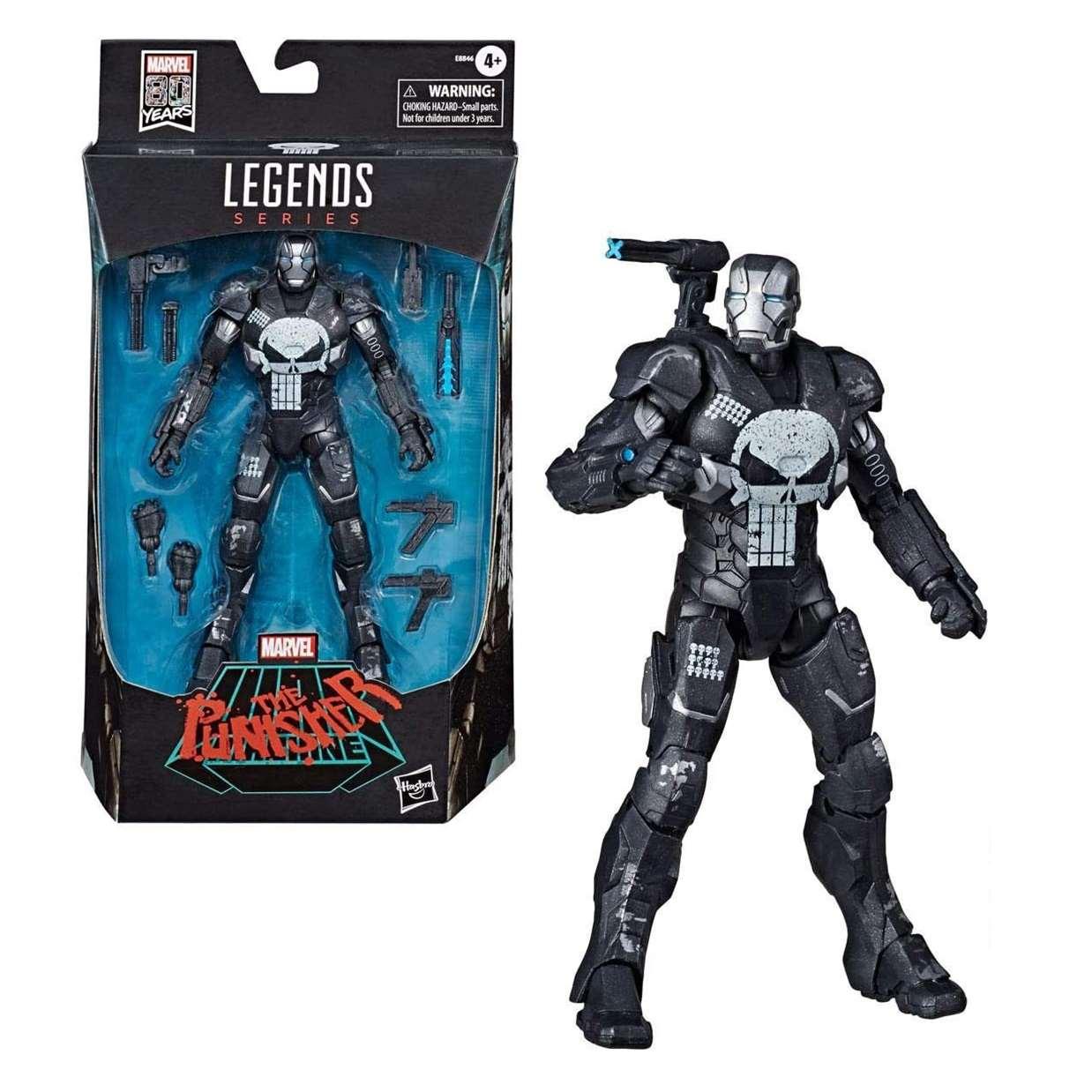 The Punisher Figura War Machine Legends Series Marvel 80th