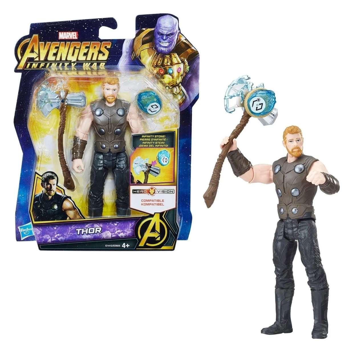 Thor Figura Marvel Infinity War Gemas Del Infinito