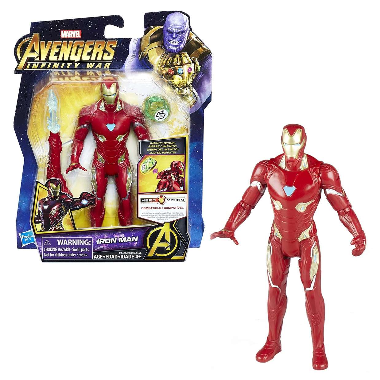 Iron Man Figura Marvel Infinity War Gemas Del Infinito