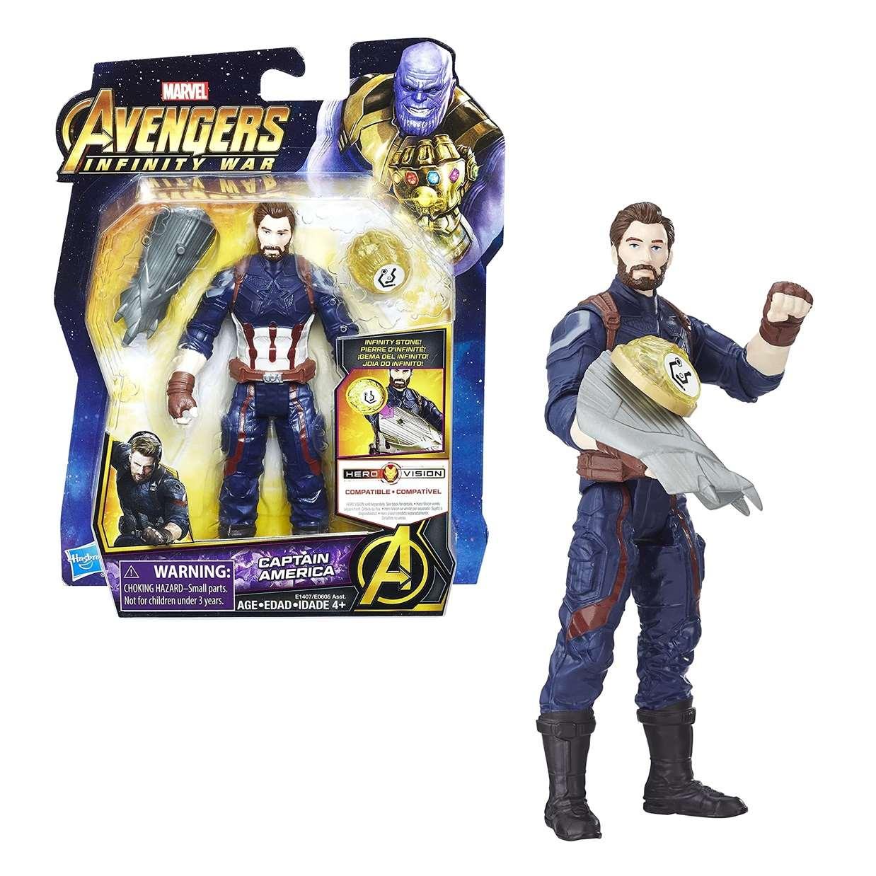 Capitan America Figura Marvel Infinity War Gemas De Infinito