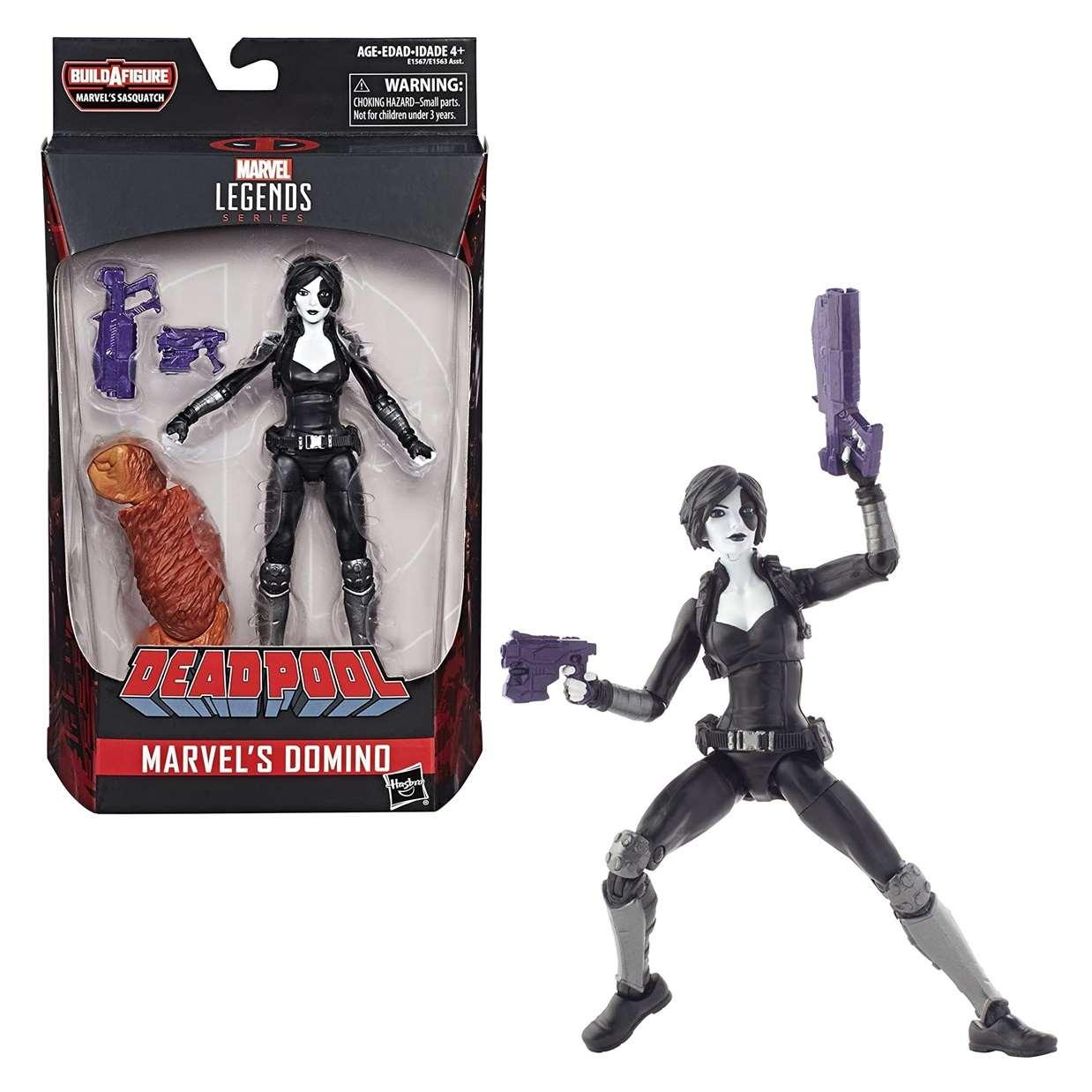Domino Figura Marvel B A F Sasquatch Deadpool Legends 6 pULG
